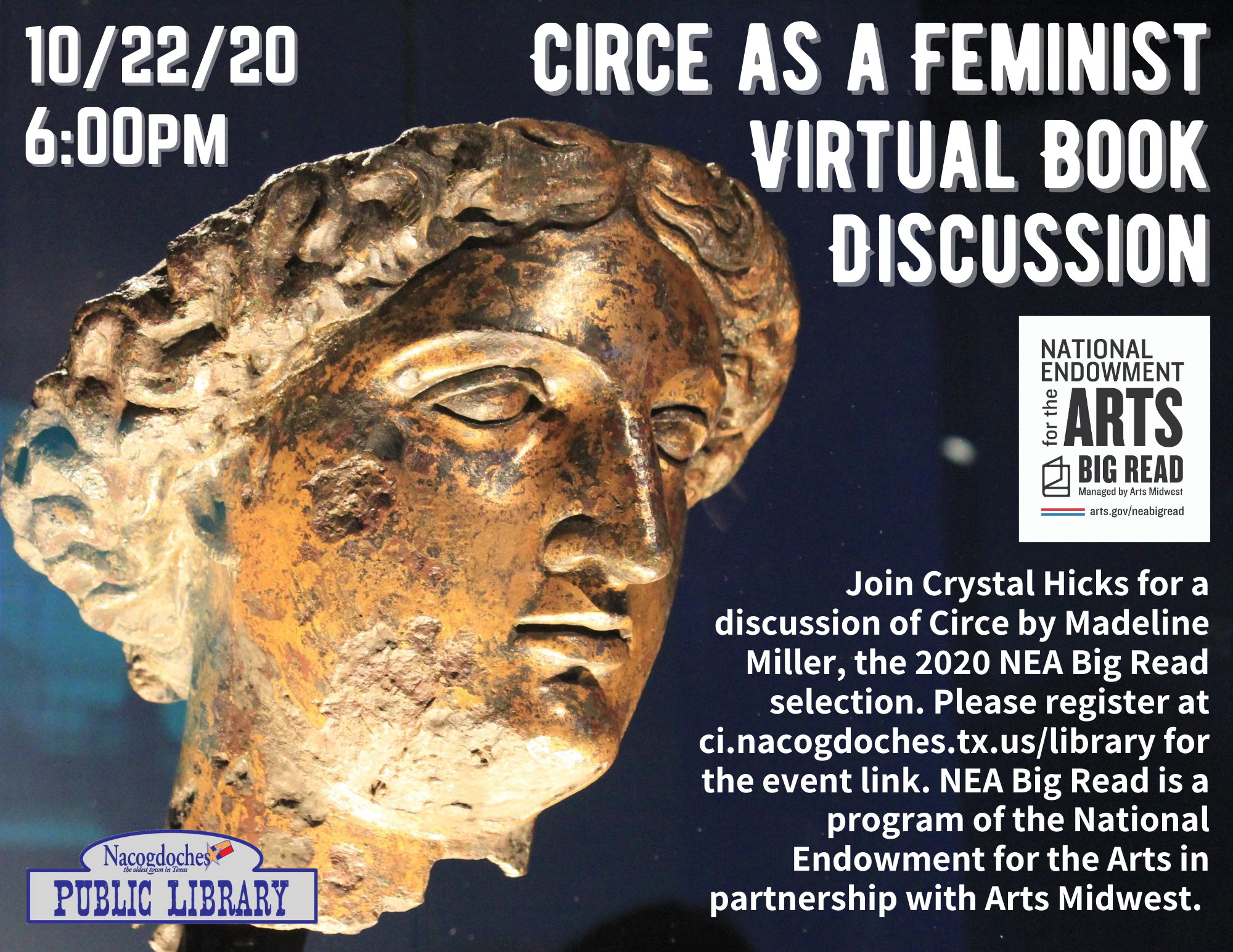 Circe as a Feminist Book Discussion - 10-22-20