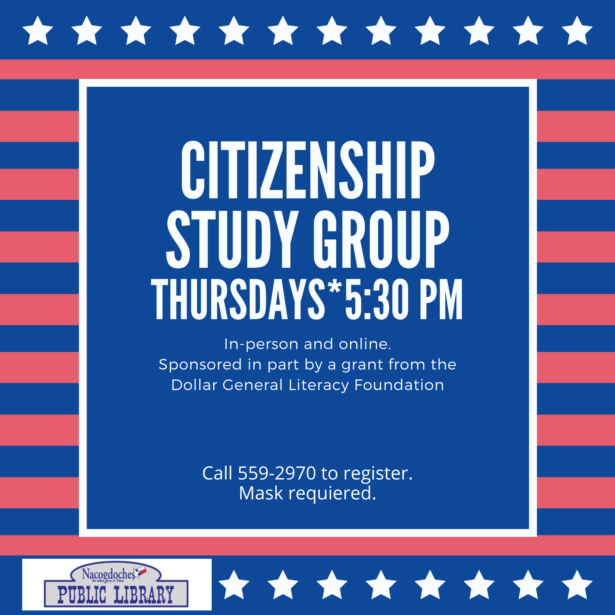Citizenship Study Group - fall 2020