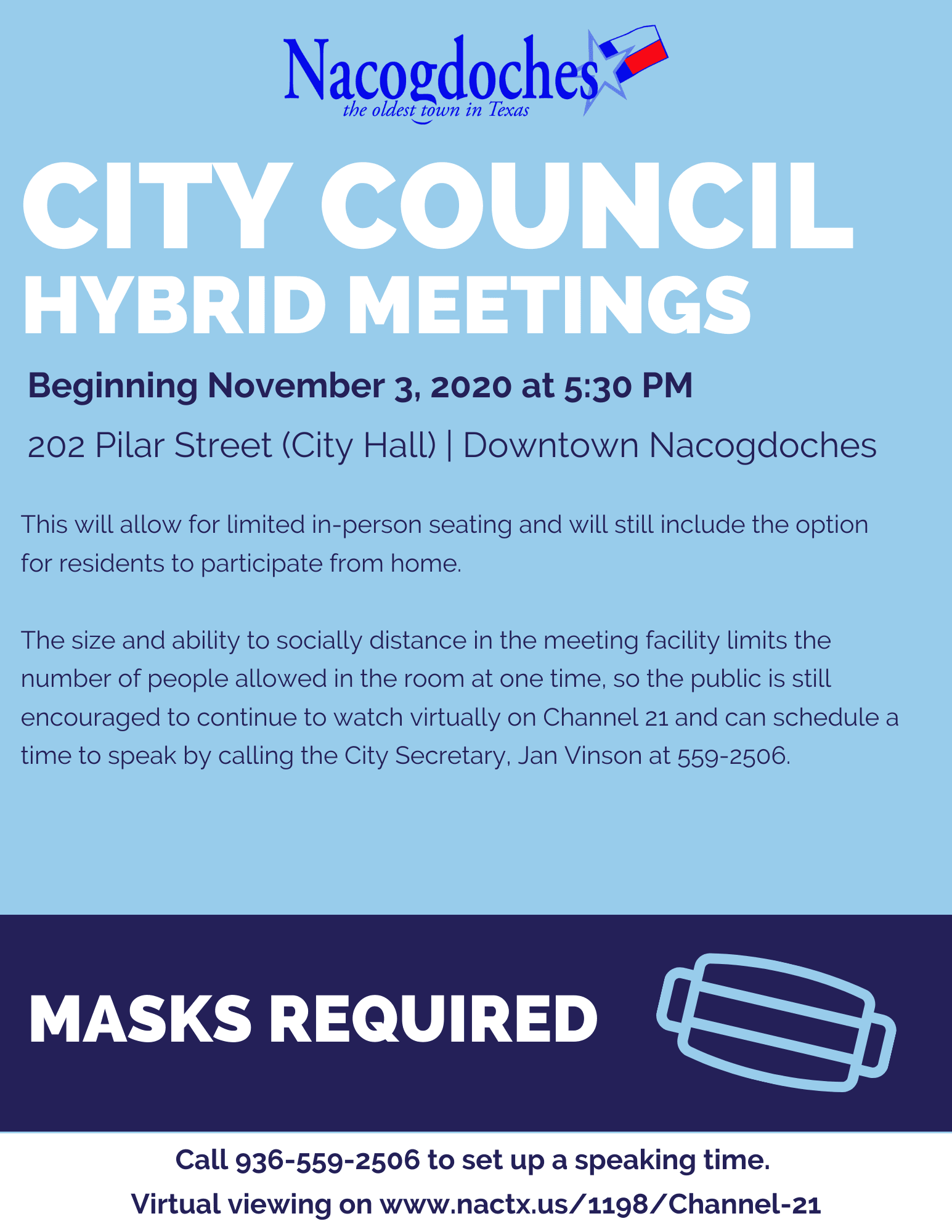 Hybrid City Council Meetings