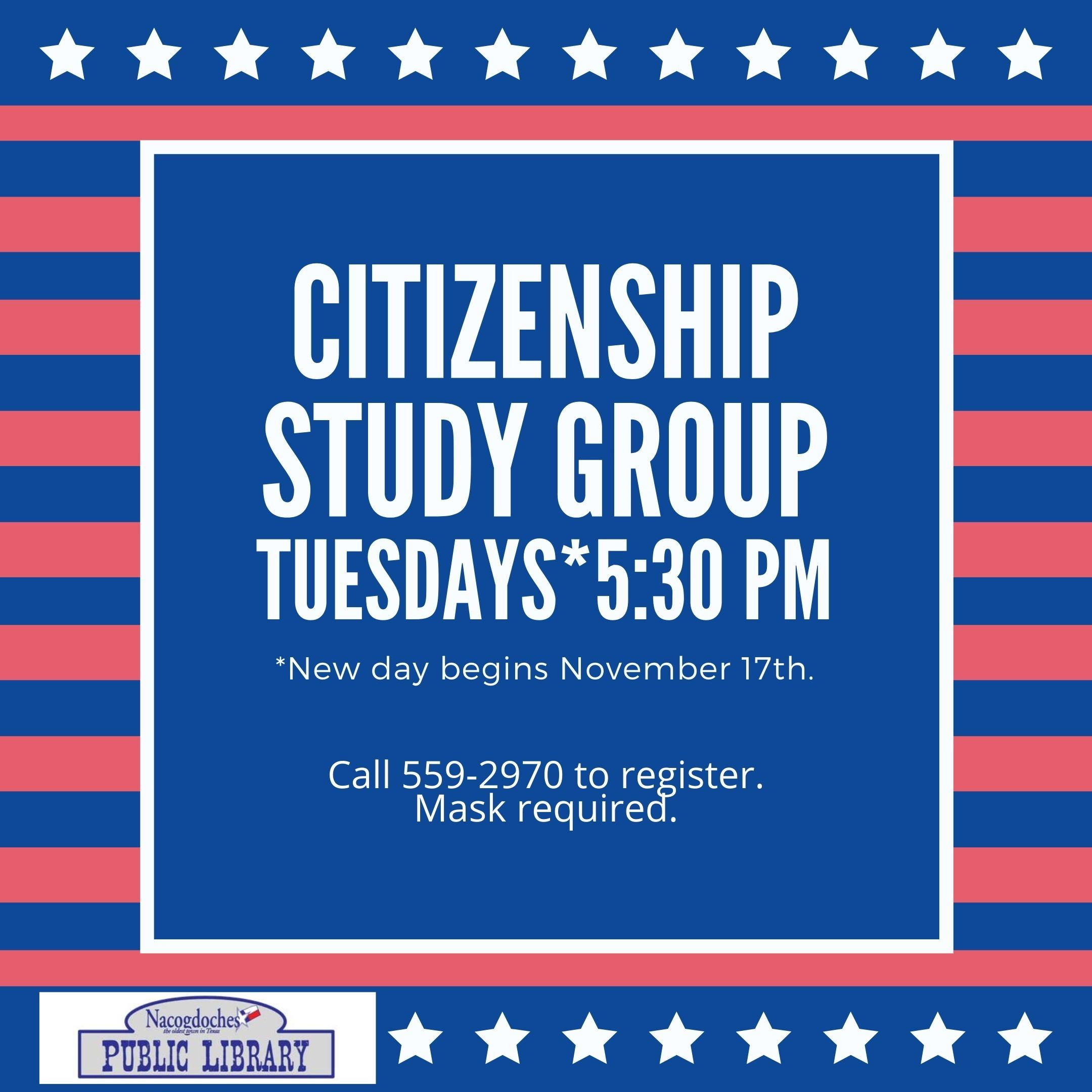 Citizenship Study Group - Nov 2020