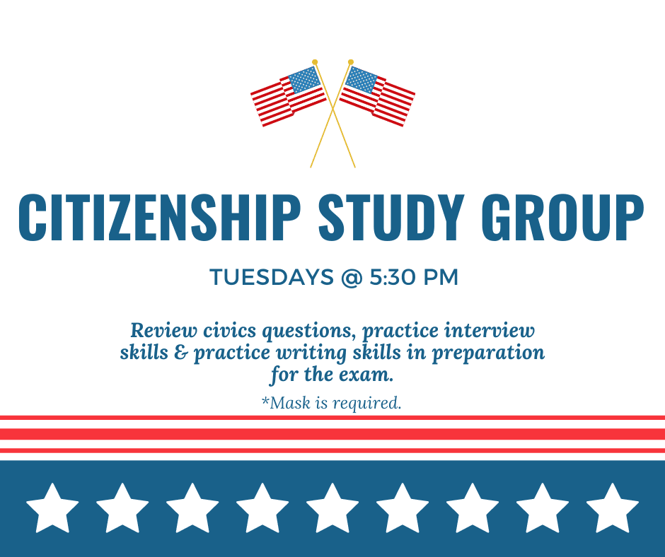 Citizenship Study Group Spring 2021