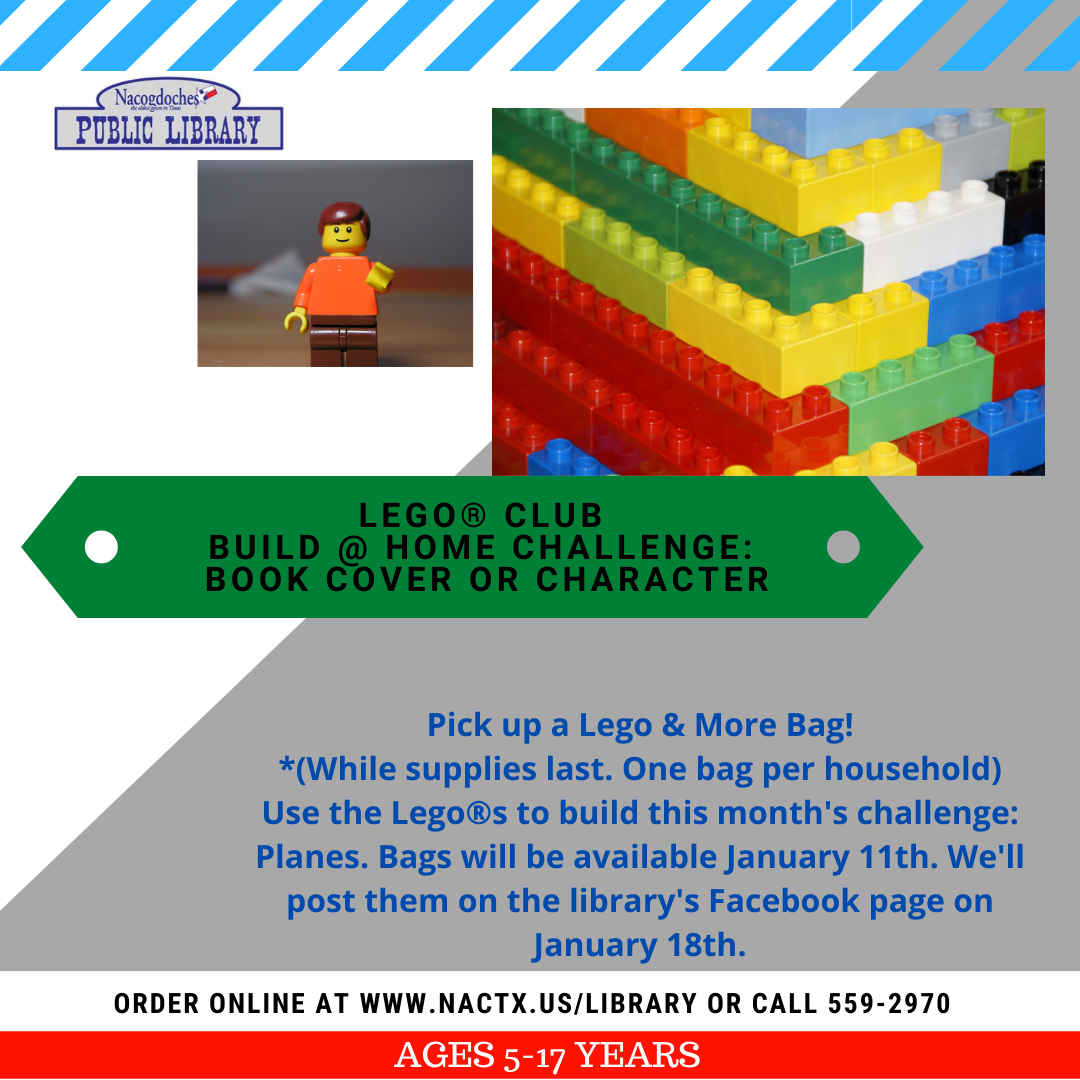 Lego Club- Jan 2021
